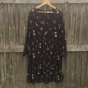 Old Navy 4/4 sleeve dress XL